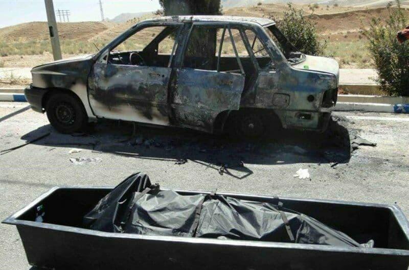دو مرد پس از اطلاع از موجودی کارت بانکی دوستشان، او را کشتند و جنازه را به آتش کشیدند+عکس